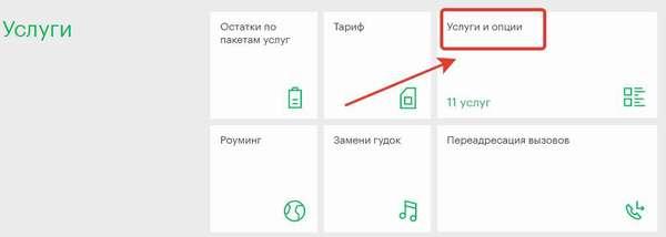 Подключение услуги &quot,Везде как дома&quot, на сайте Мегафона