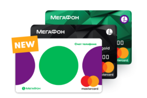 Банковская карта МегаФон