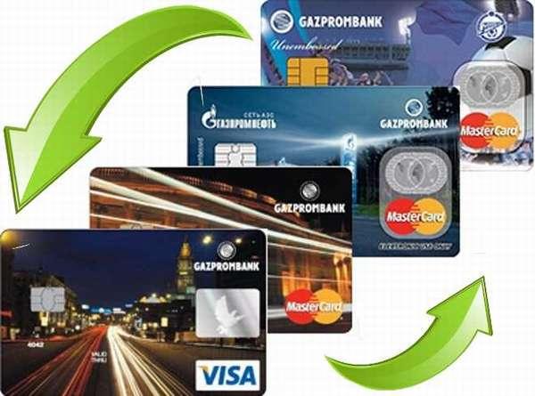 Как перевести деньги с карты на карту Газпромбанка
