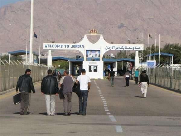 КПП на границе Израиля и Иордании