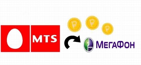 Как перевести деньги с МТС на Мегафон