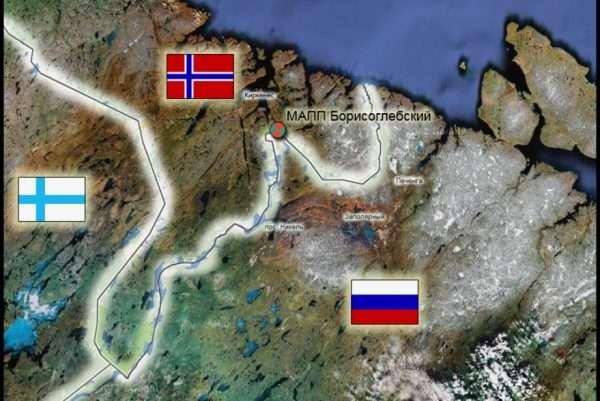 Граница Норвегии и России