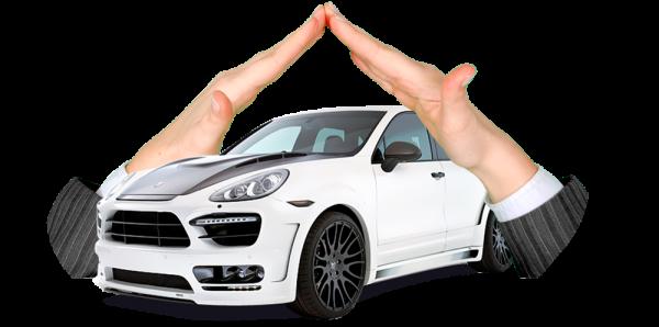 Руки над машиной