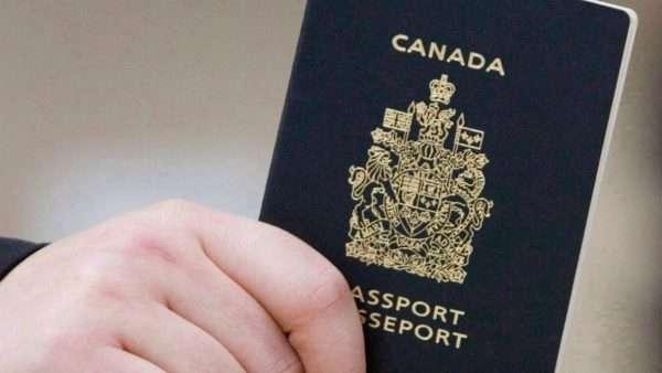 Канадский паспорт