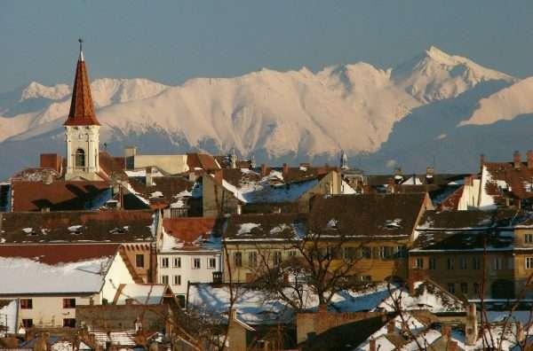 Горы в Румынии