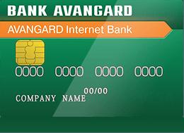 Карта банка «Авангард»