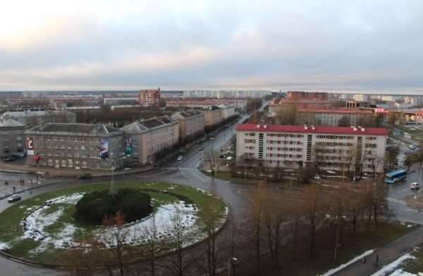 Петровская площадь Нарвы