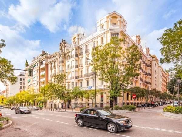 Район Barrio Salamanca в Мадриде