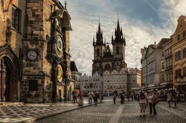 Прага — столица Чехии