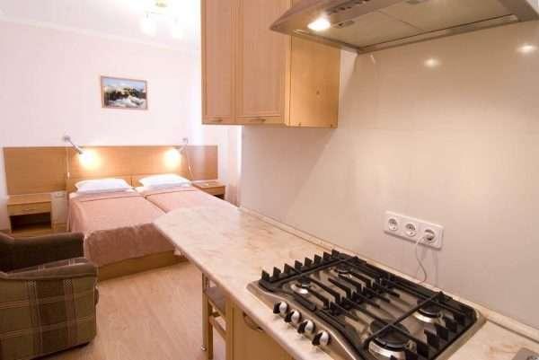 Пример комнаты в общежитии квартирного типа