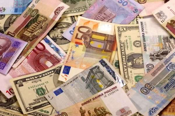 Рубли, евро, даллары
