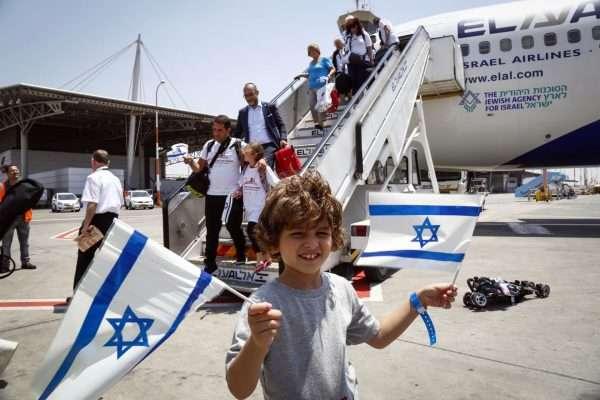 Репатрианты, прилетевшие в Израиль