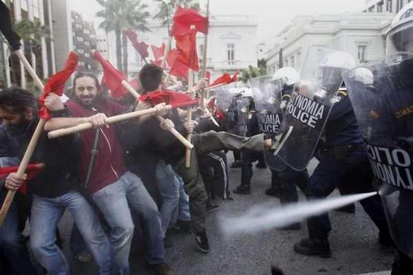 Демонстрации в Афинах 2012 года