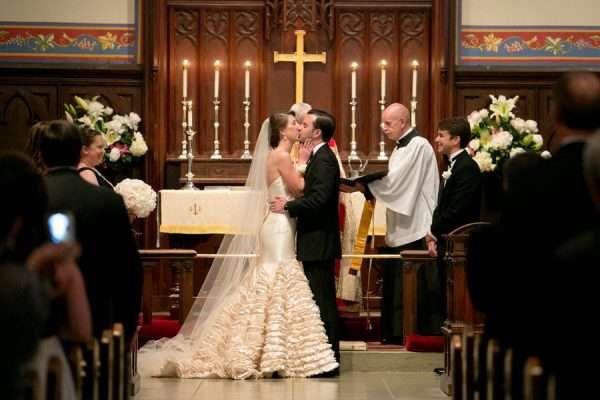 Венчание в костёле