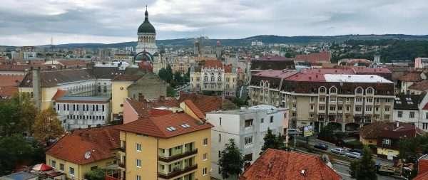 Город Клуж в Румынии