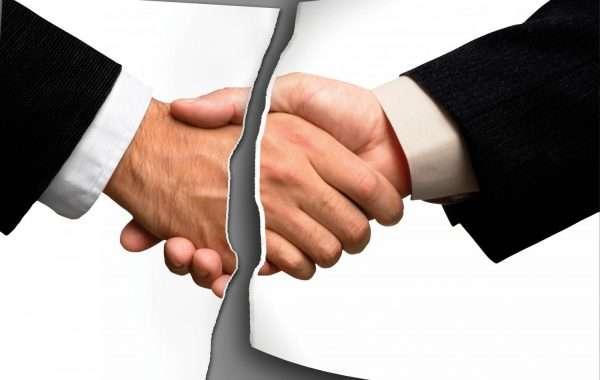 Рукопожатие людей