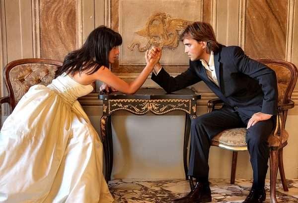 Противостояние жениха и невесты
