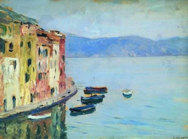 Картина Озеро Комо, Левитан