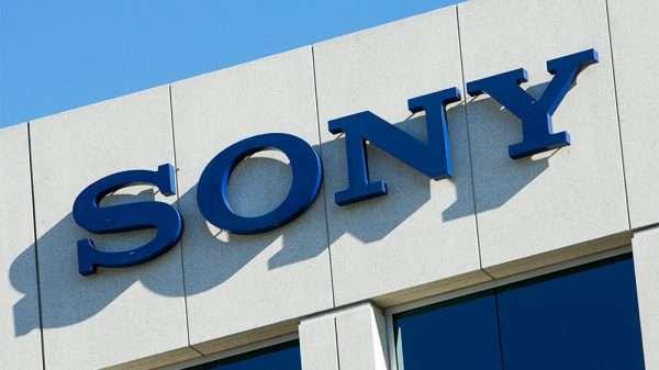Вывеска корпорации Sony