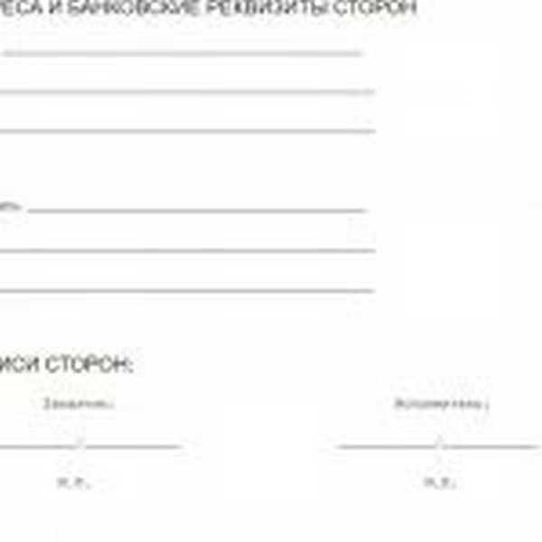 Скрин примера договора на курьерские услуги 5
