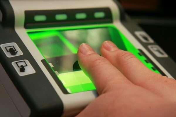 Сдача биометрических даных