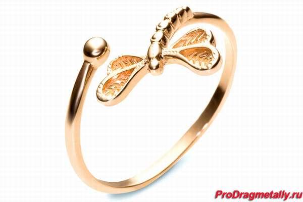 Золотое кольцо без пробы