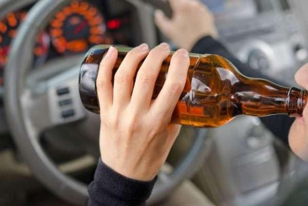 Выпивающий водитель