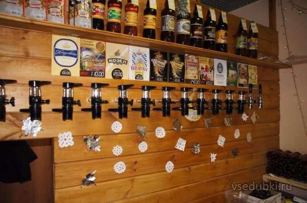Торговое место по продаже пива