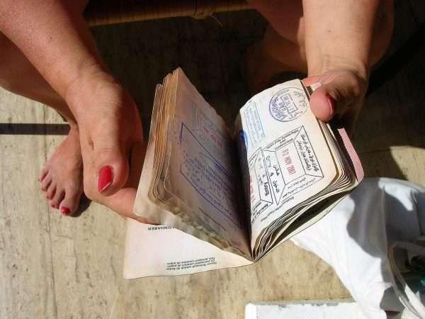 Мятый паспорт