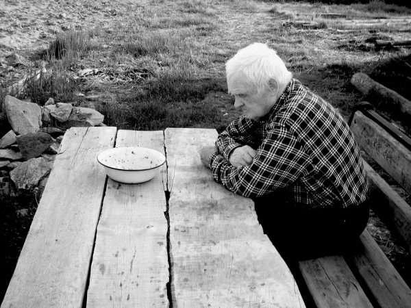Одинокий старик
