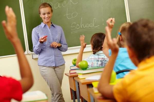 Молодой учитель английского языка