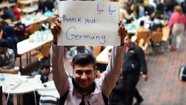 Беженец в Германии