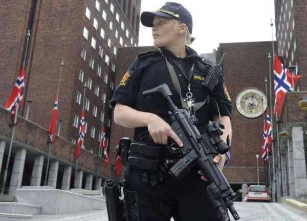 Сотрудница полиции Норвегии