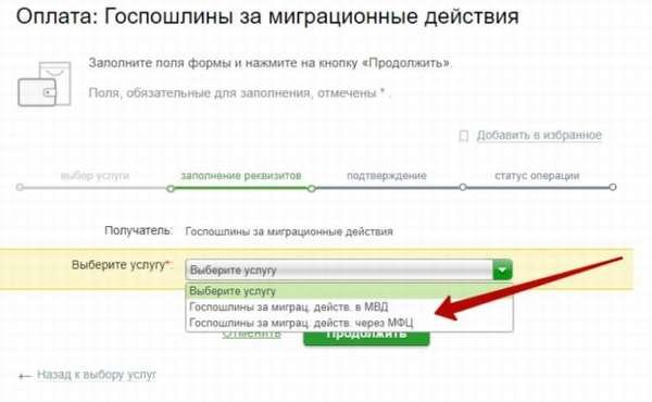 оплатить пошлину за загранпаспорт через сбербанк онлайн