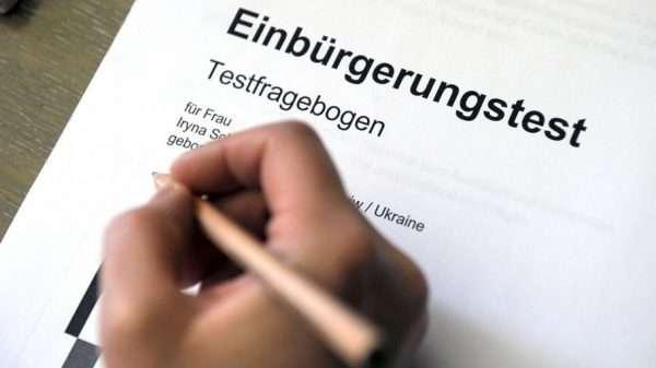 Тест на гражданство Германии