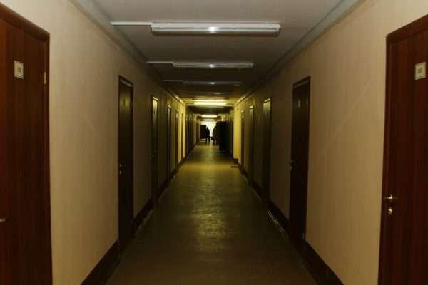 Пример общежития коридорного типа