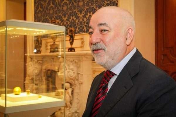Виктор Вексельберг в музее
