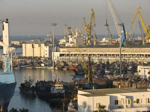 Морской порт в Марокко