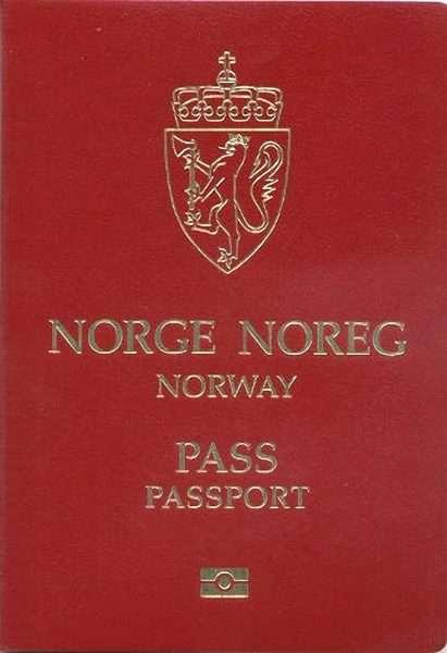 Паспорт Норвегии