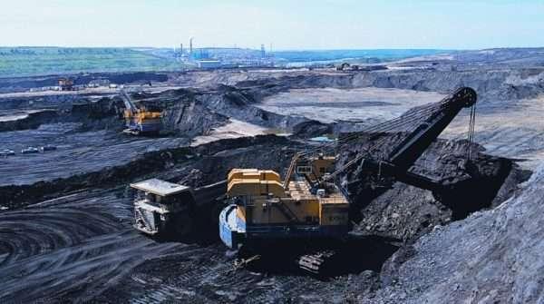 Добыча угля в Альберте