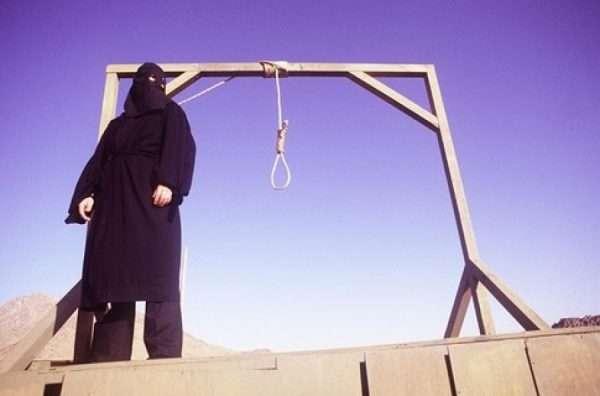 Палач ожидает осужденного на смертную казнь