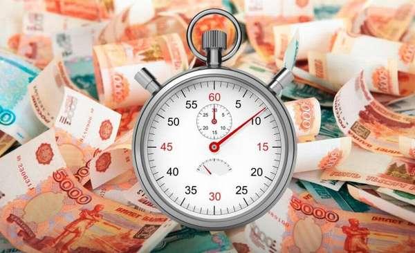 сроки микрокредитов