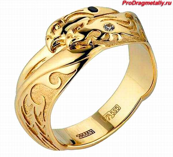 Кольцо 585 пробы золота