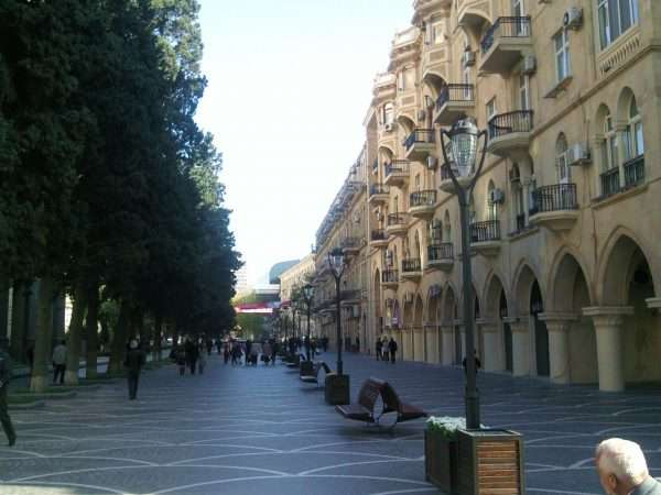Баку — столица Азербайджана