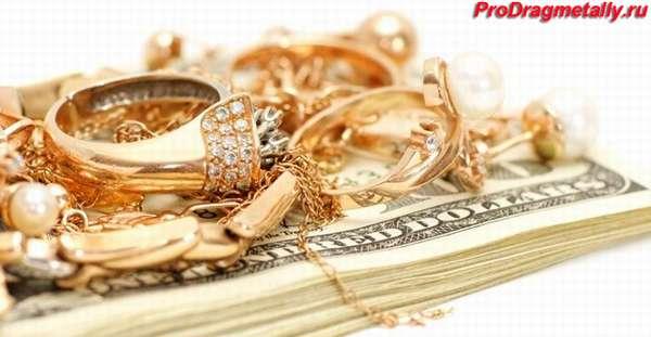 Золотые украшения на купюрах