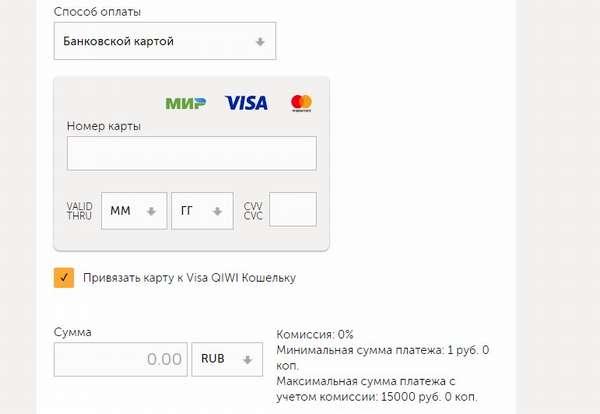 Перевод на Киви кошелёк с карты Яндекс.Деньги