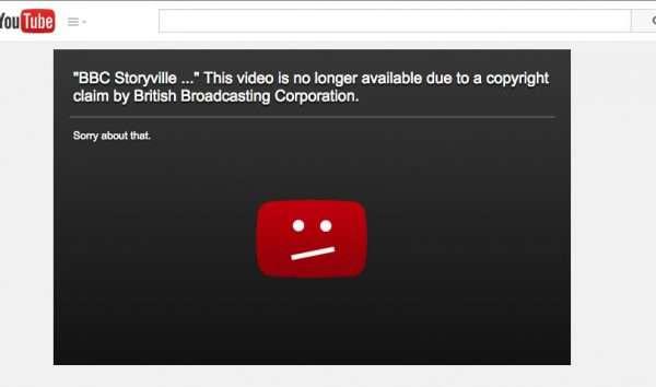 Скриншот видеохостинга