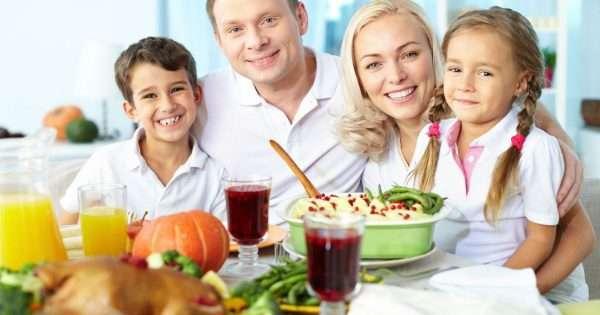 Семья в Финляндии