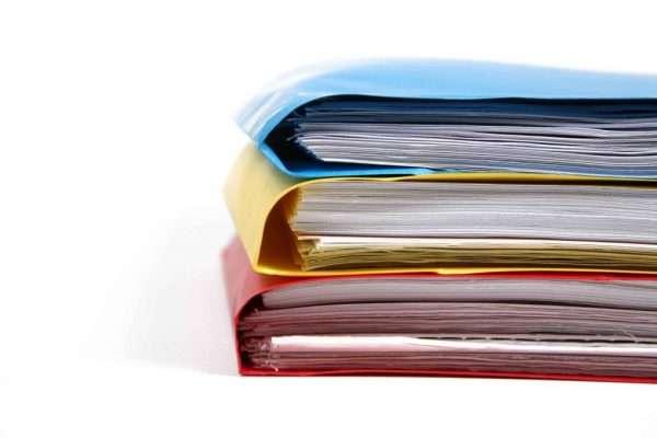 Документы в папках
