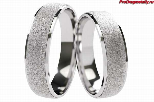 Свадебные кольца из палладия